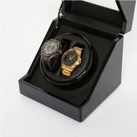 The Carbon Fiber Watch Winder