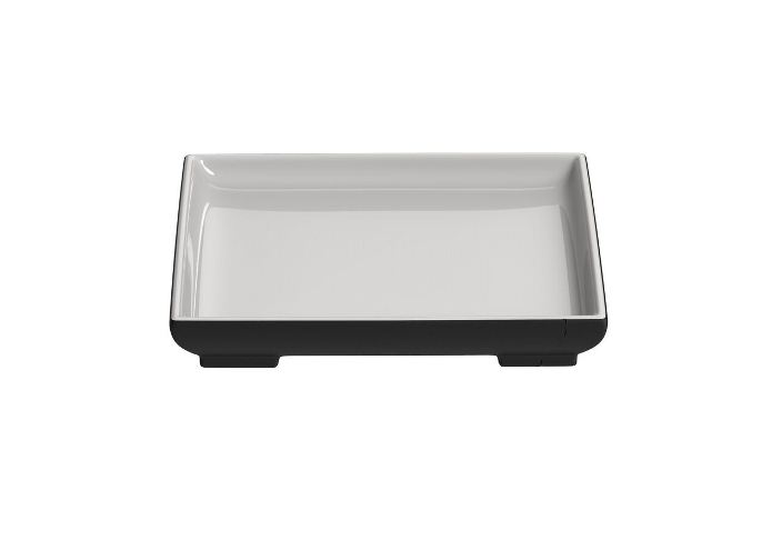 Serving Plate - Square WHITE LINE