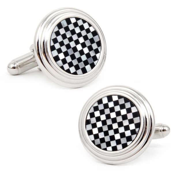 Onyx/ Mother of Pearl Cufflinks
