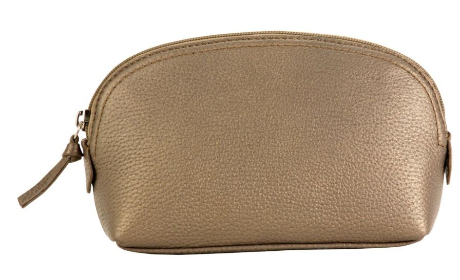 Cosmetic Pouch - Bronze