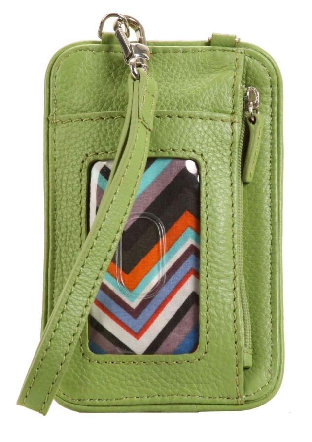 Essentials Crossbody - Piquat Green
