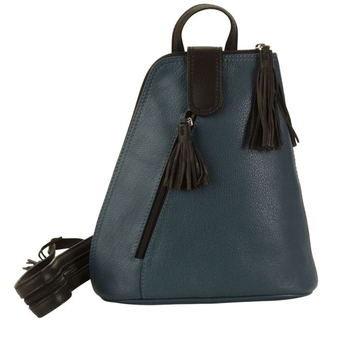 Backpack - Indian Teal / Black