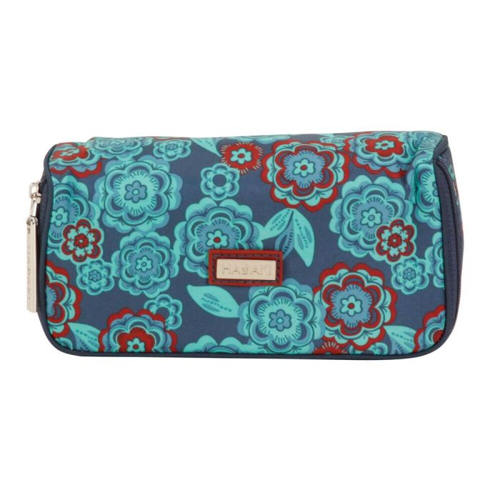 Mirror Cosmetic Case - Floral