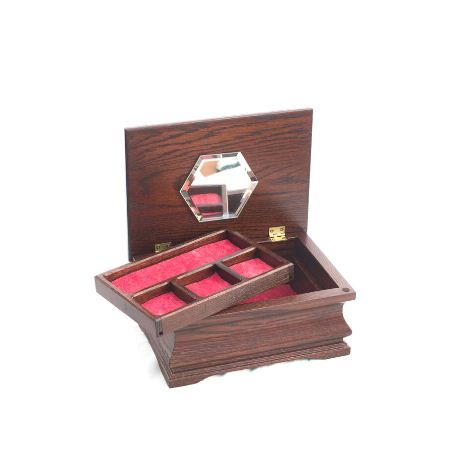 Little Lady Jewelry Box with Lift-out Tray