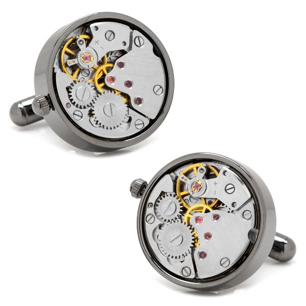 Gunmetal Watch Movement