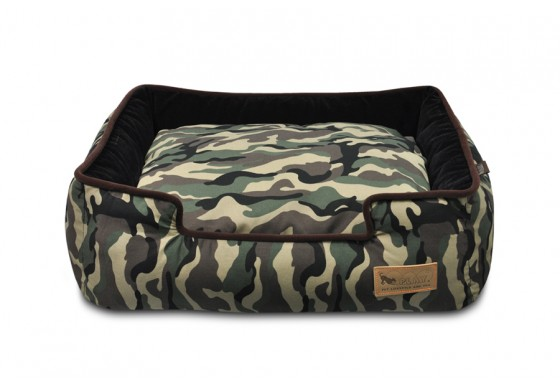 Lounge Bed -  Camouflage - Green