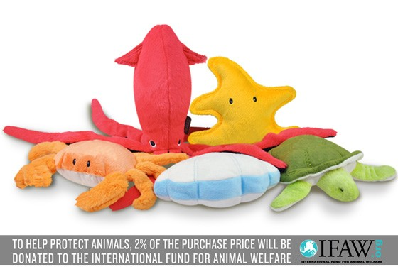 Under the Sea Dog Toy Set