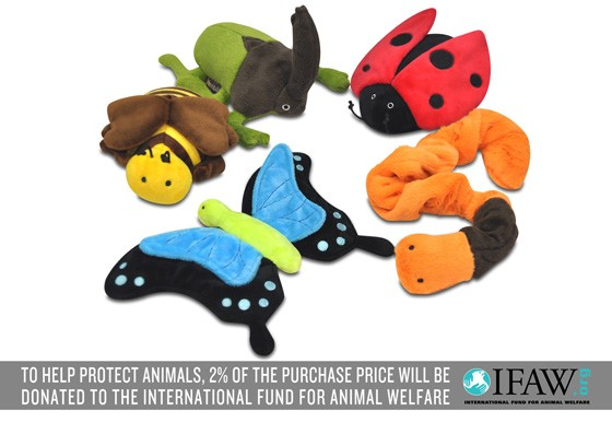 Bugging Out Dog Toy Set