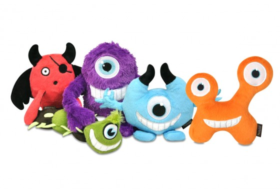 Monster Dog Toys Set