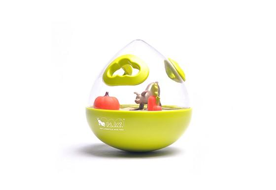 Wobble Ball 2.0 Enrichment Treat Toy - Green