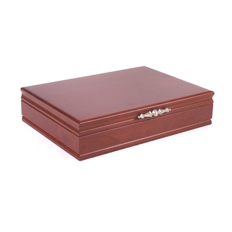 Traditions Flatware Chest, Cherry Finish & Anti-tarnish Lining