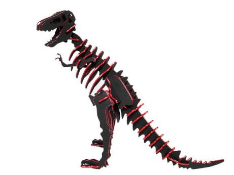 3D Dinosaur Puzzle - Tyrannosaurus Rex - Two-Tone HDPE - 8 Color Combinations