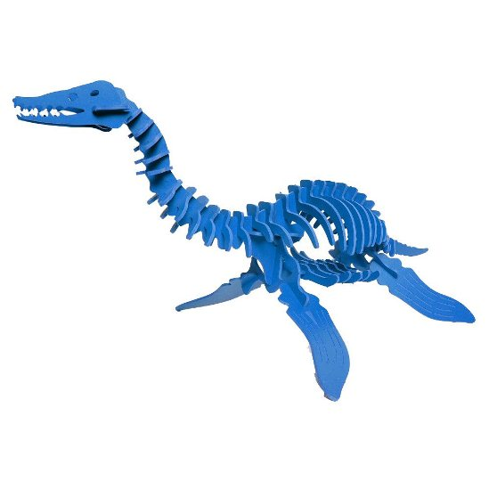 3D Dinosaur Puzzle - Plesiosaurus - Komatex PVC - 8 Color Options