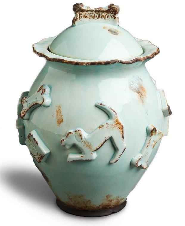 Dog Treat Jar - Baby Blue