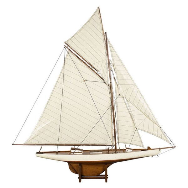 America's Cup Columbia 1901, Med. French Finish