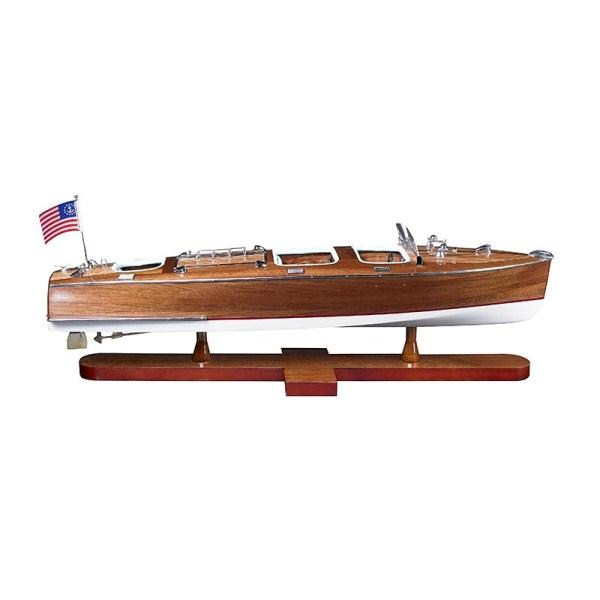 Triple Cockpit Boat Model