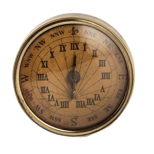 18th Century Compass-Sundial, small