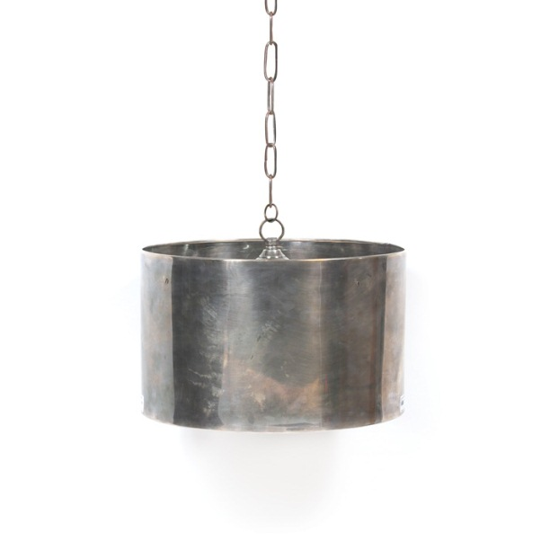Industrial Steel Drum Pendant Fixture