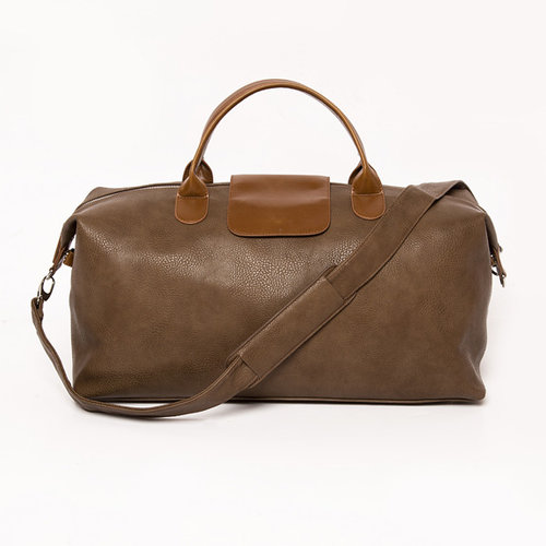 Alpha Duffel Bag  - Chocolate Brown