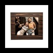 "Matte Ebony Picture Frame 8x10""  - Brown"