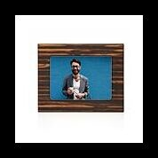 "Matte Ebony Picture Frame 5"" x 7"" - Brown"
