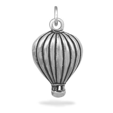Oxidized Hot Air Balloon Charm