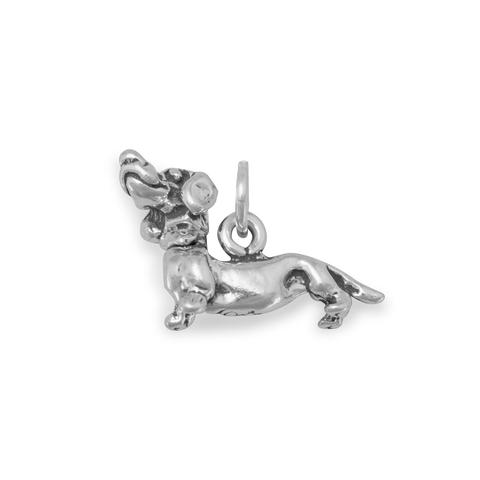 Dachshund with Movable Head Charm