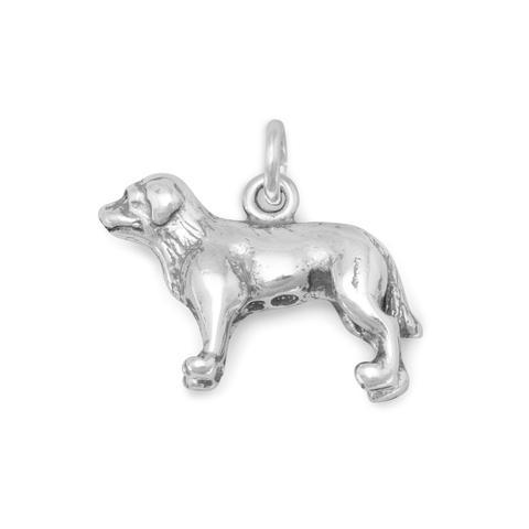 Standing Labrador Charm