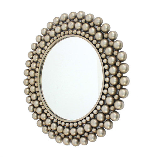 Cleo Silver Mirror