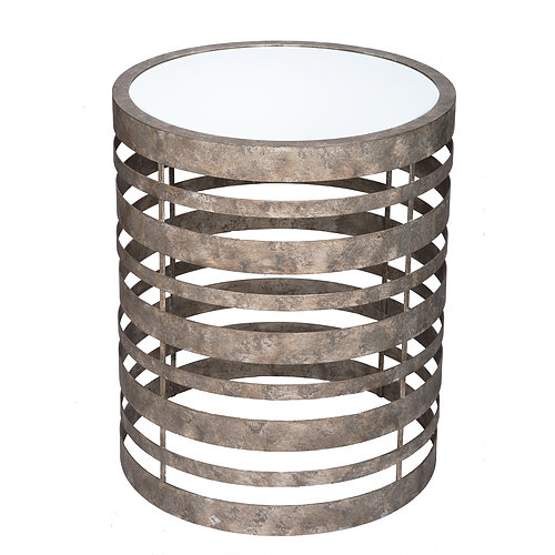 Silver Banded Table