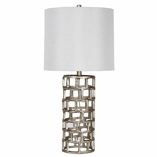 Triton Silver Iron Lamp