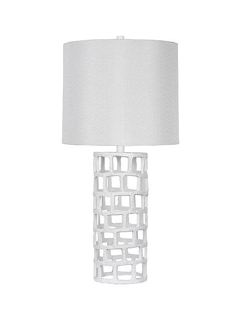Triton White Lamp