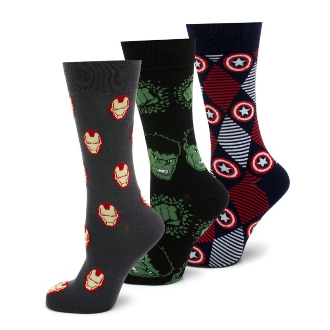 Marvel's Avengers 3 Pair Socks Gift Set