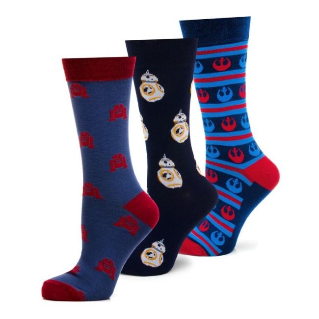 Rebel Droids 3 Pair Socks Gift Set