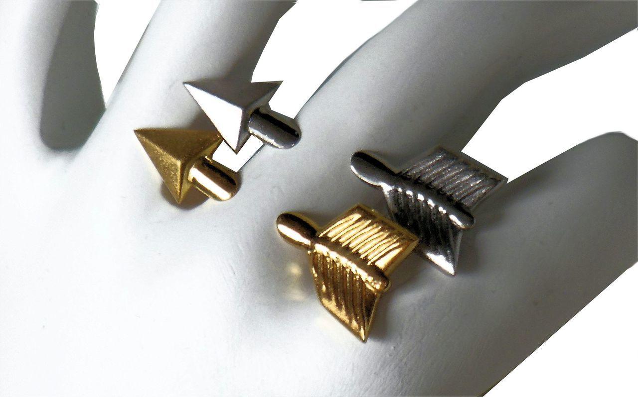 Illusion Piercing Arrow Ring