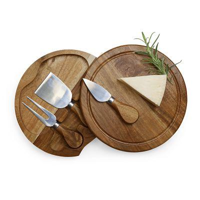Brie Acacia Cheese Board Set