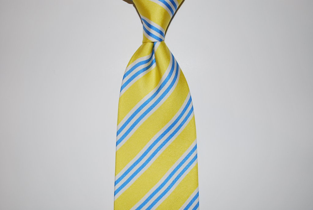 Twisted Fin Stripe Collection - Yellow