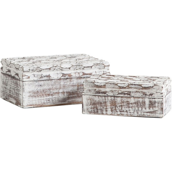 Theca IV Wooden Boxes (Set of 2)