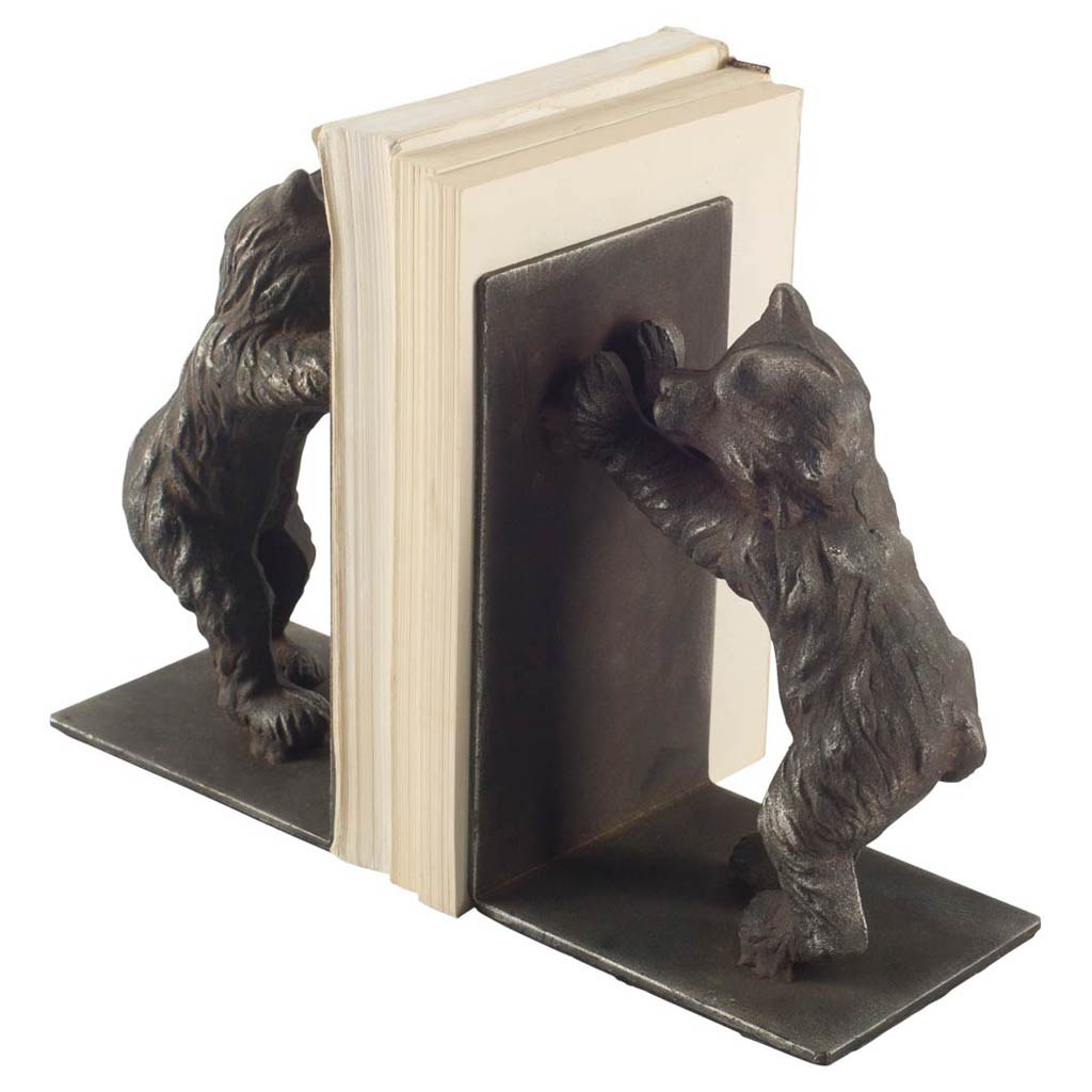 Perry Bear Book Ends Set of 2