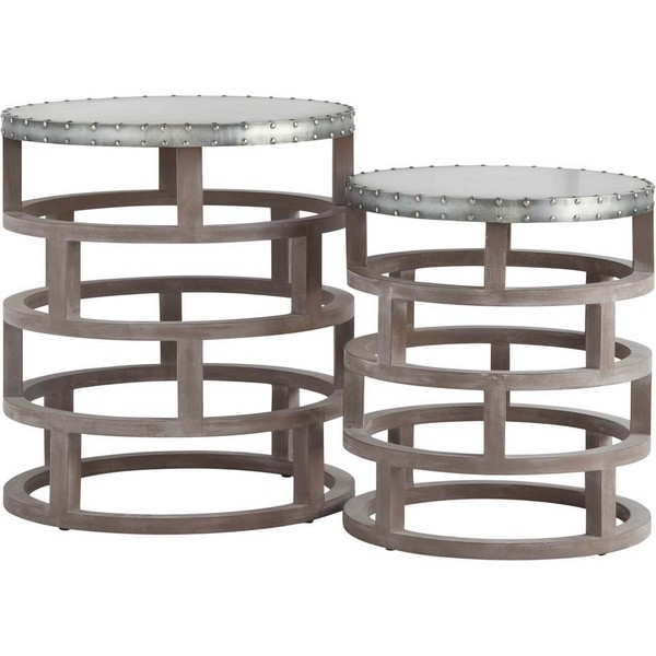 Cartuga (Set of 2) Accent Tables