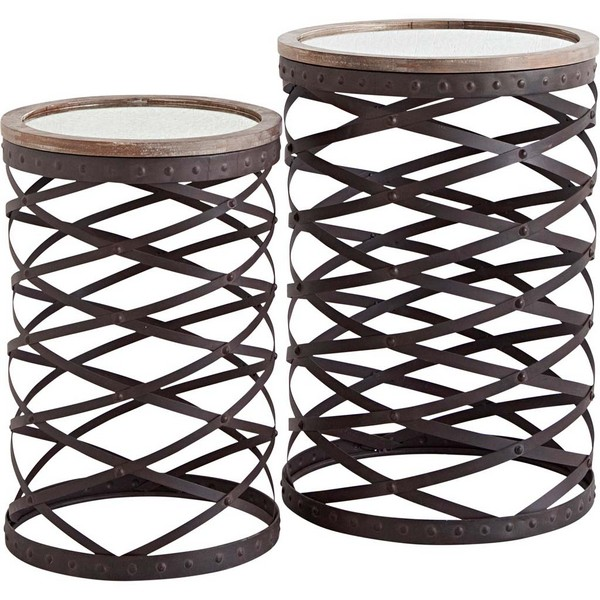 Trifolium (Set of 2) Accent Tables