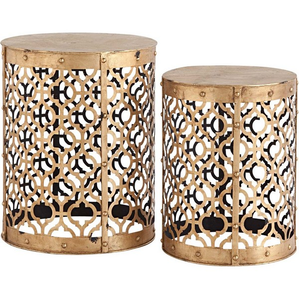 Rudebekia (Set of 2) Accent Tables