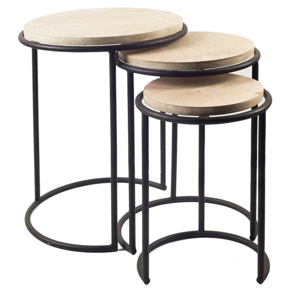 Matryoshka Accent Tables