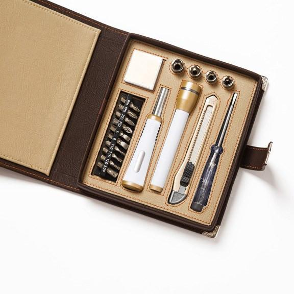 Book Case Tool Set in Brown