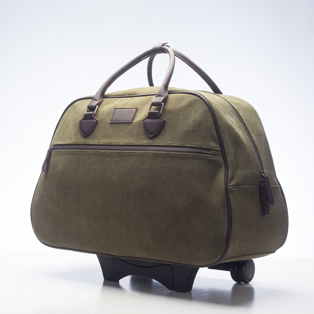 Mid-City Rolling Bag in Olive