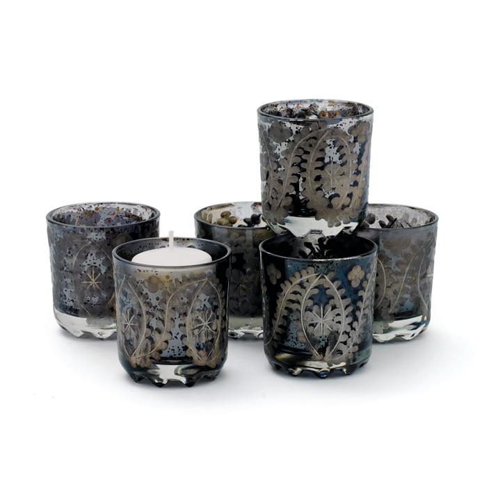 Set of Six The Mood Votive Holders