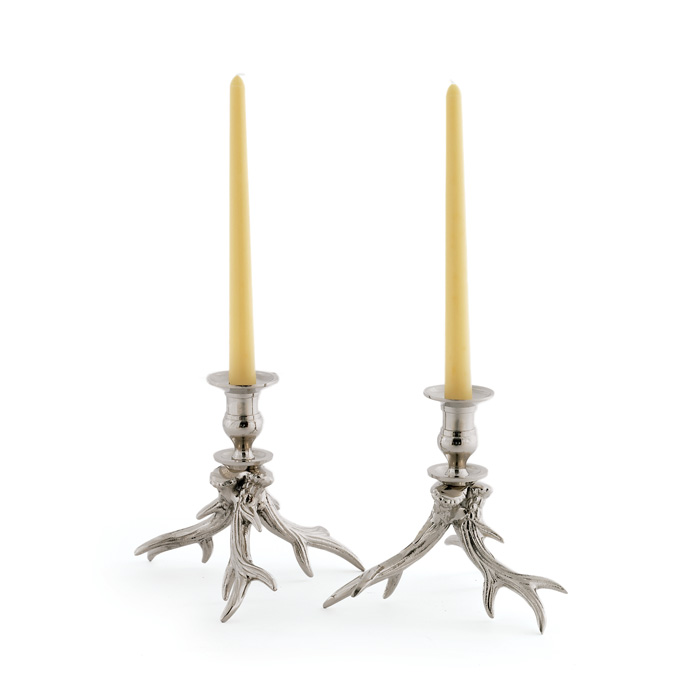 Pair of Western Candle Holders