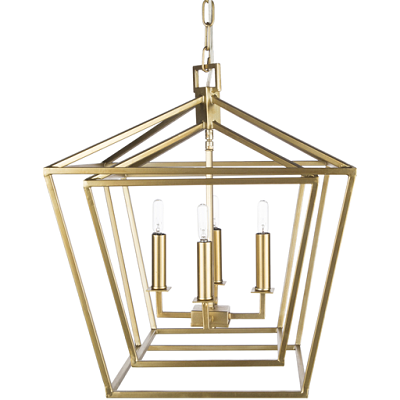 Bellair Gold Ceiling Light