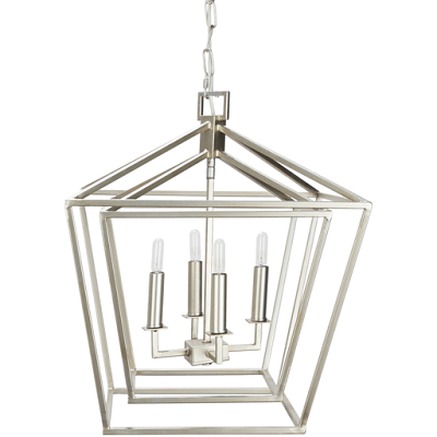 Bellair Silver Ceiling Light