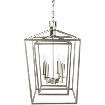 Bellair Silver Ceiling Light 2